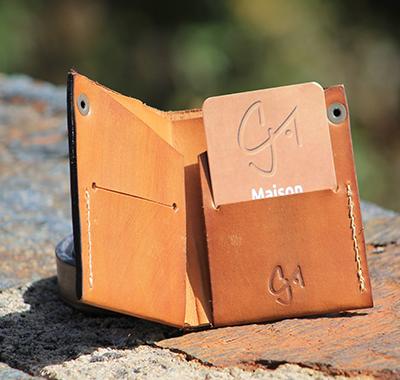Pochette de ceinture LUCANUS avec étui à couteau - Maison Grandadam 538a6181cbe