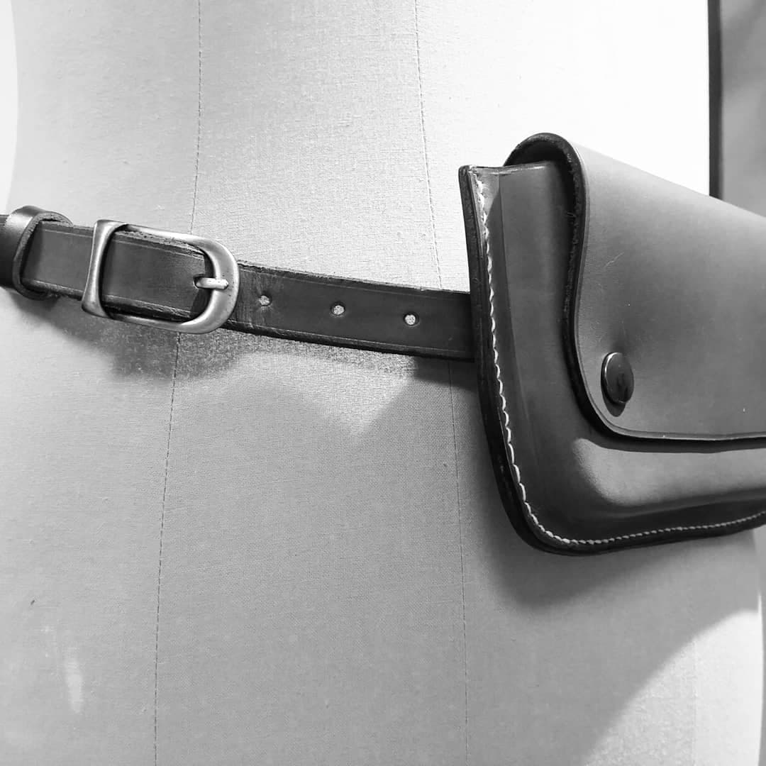 Pochette de ceinture LUCANUS - Maison Grandadam b17b22442a3